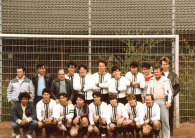 3. Mannschaft 1986 - Spanier | VfL 05 Aachen